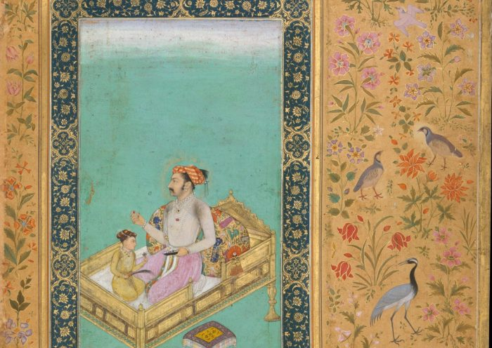 Dara Shukoh a cinque anni ammirando gemme con il padre Shah Jahan. https://referenceworks-brillonline-com.prext.num.bulac.fr/media/isla/DaraShukuhAndShahJahanMet.jpg?width=250