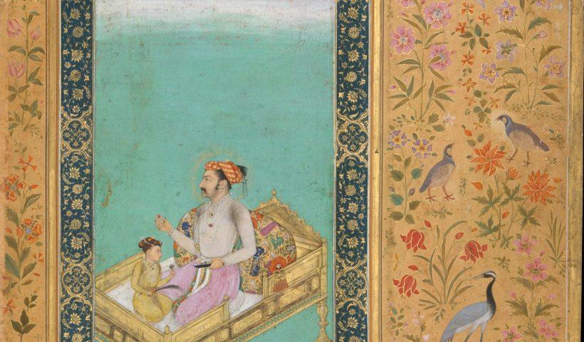 Dara Shukoh a cinque anni ammirando gemme con il padre Shah Jahan. https://referenceworks-brillonline-com.prext.num.bulac.fr/media/isla/DaraShukuhAndShahJahanMet.jpg?width=250